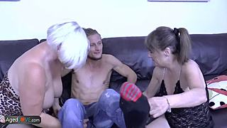 AgedLovE full-bosomed plump lady Lacey fellatio and roughly sexual intercourse