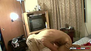 Boy thrusting his savory small fair-haired ex girlfriend HD video hdporn